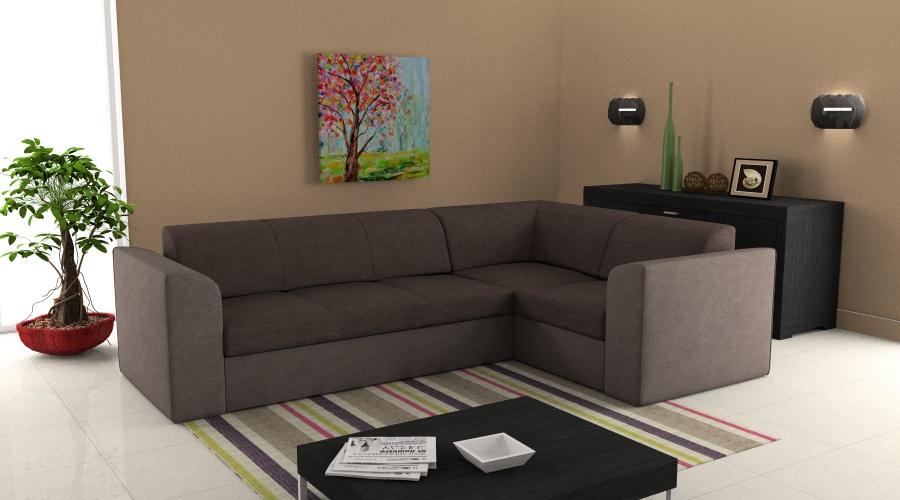 L alakú GAMBINO kanapé