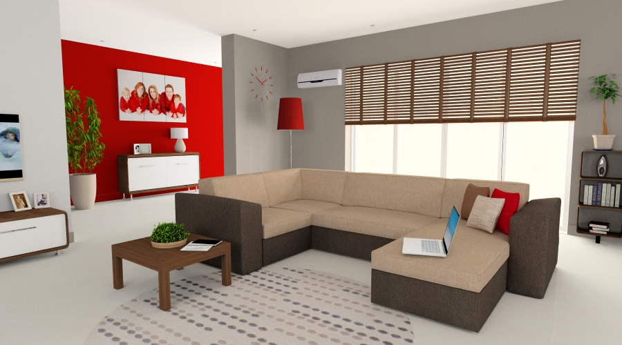 Végtelen Kényelem Genovese U alakú kanapé