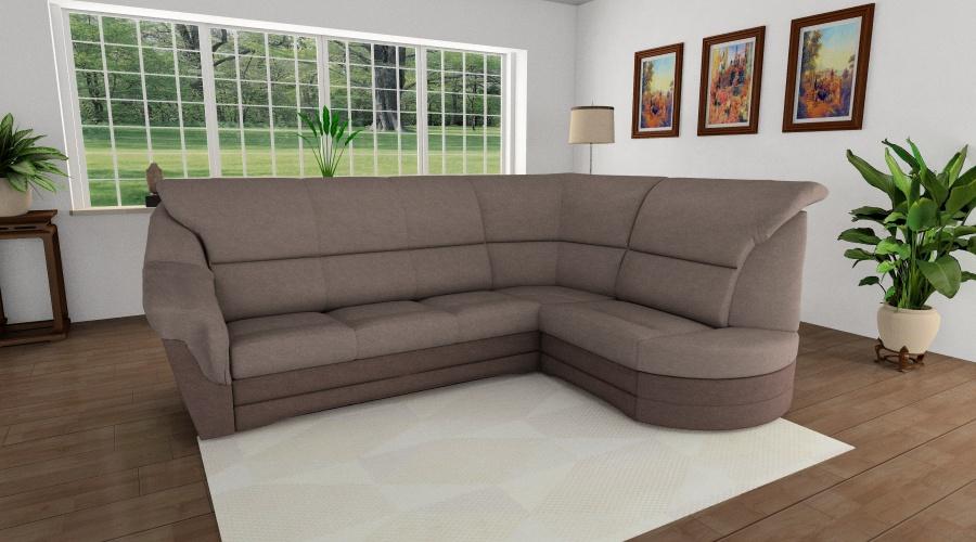 Komfort kanapé L alakban