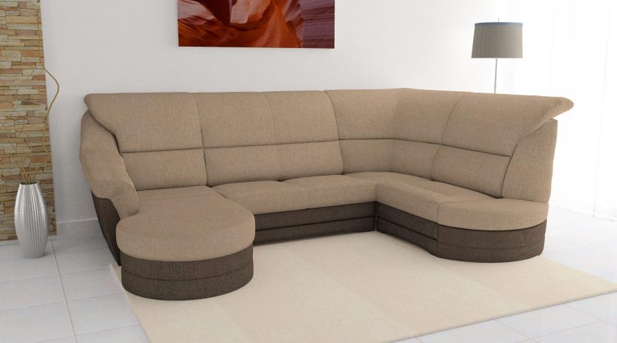 Végtelen Kényelem Komfort U alakú kanapé