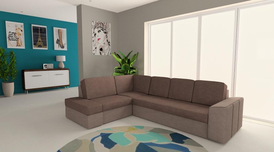 Mozaik L kanapé verhetetlen áron