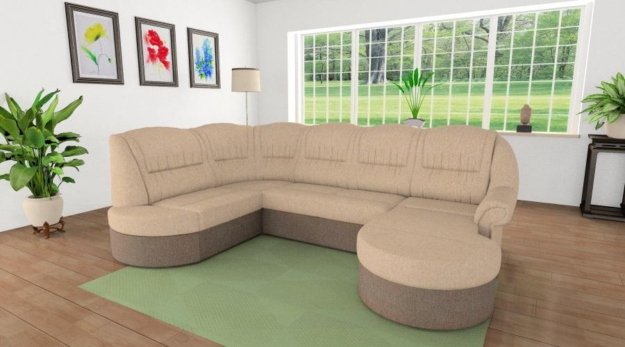Végtelen Kényelem U alakú kanapé
