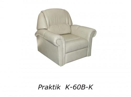 Praktik fotel - fehér