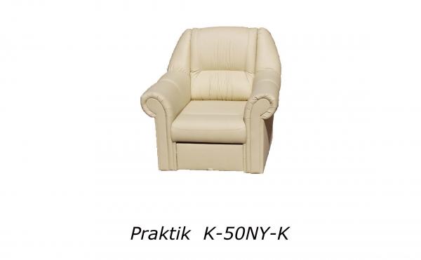 Lábartós fotel bézs színben