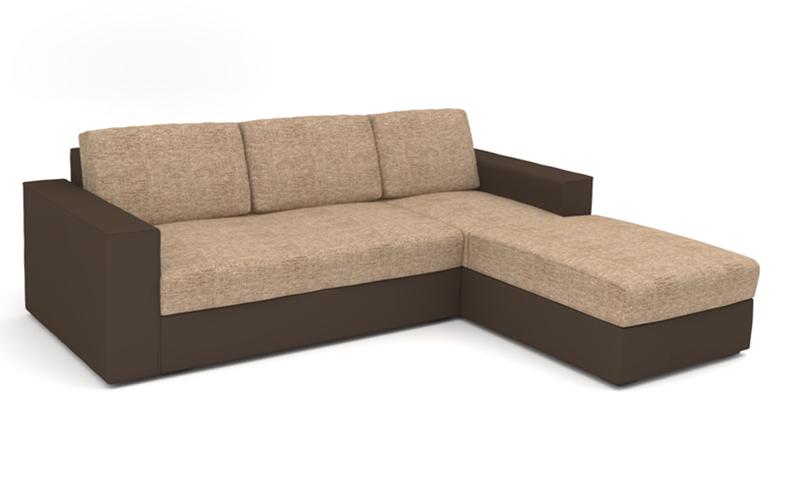 LMS kanapé L alakban