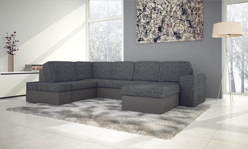 Mozaik u alakú kanapé kiváló áron