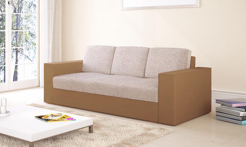 Nyitható kanapé natural színekben