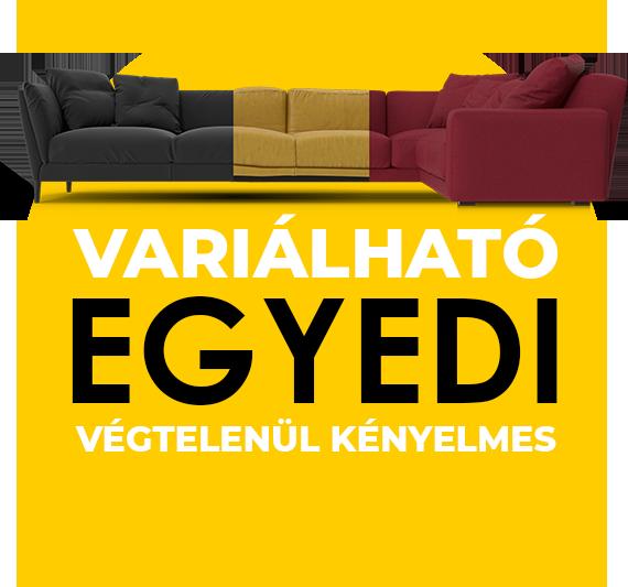 Variálható és kényelmes kanapék webáruházunkban