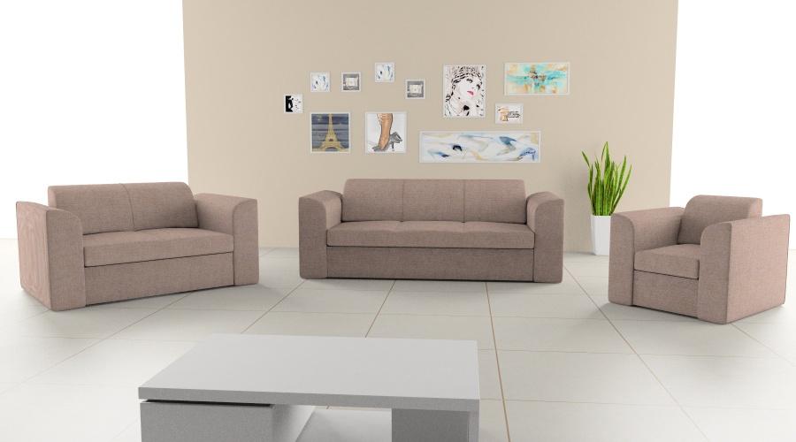 2-3 személyes kanapé + fotel szett