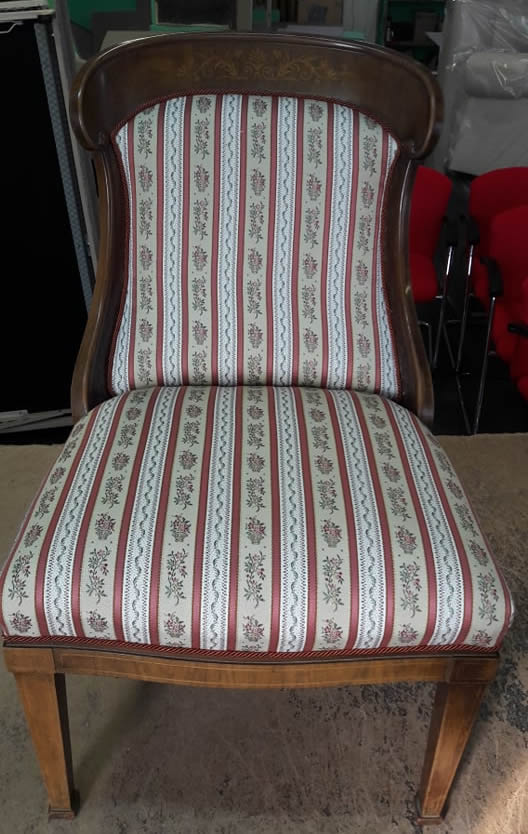 Felújított szék rusztikus stílusban