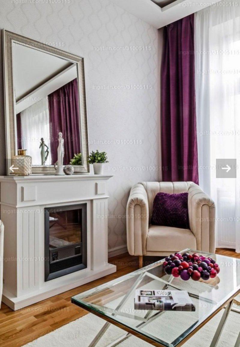 Hangulatos szoba fotellel és kanapéval