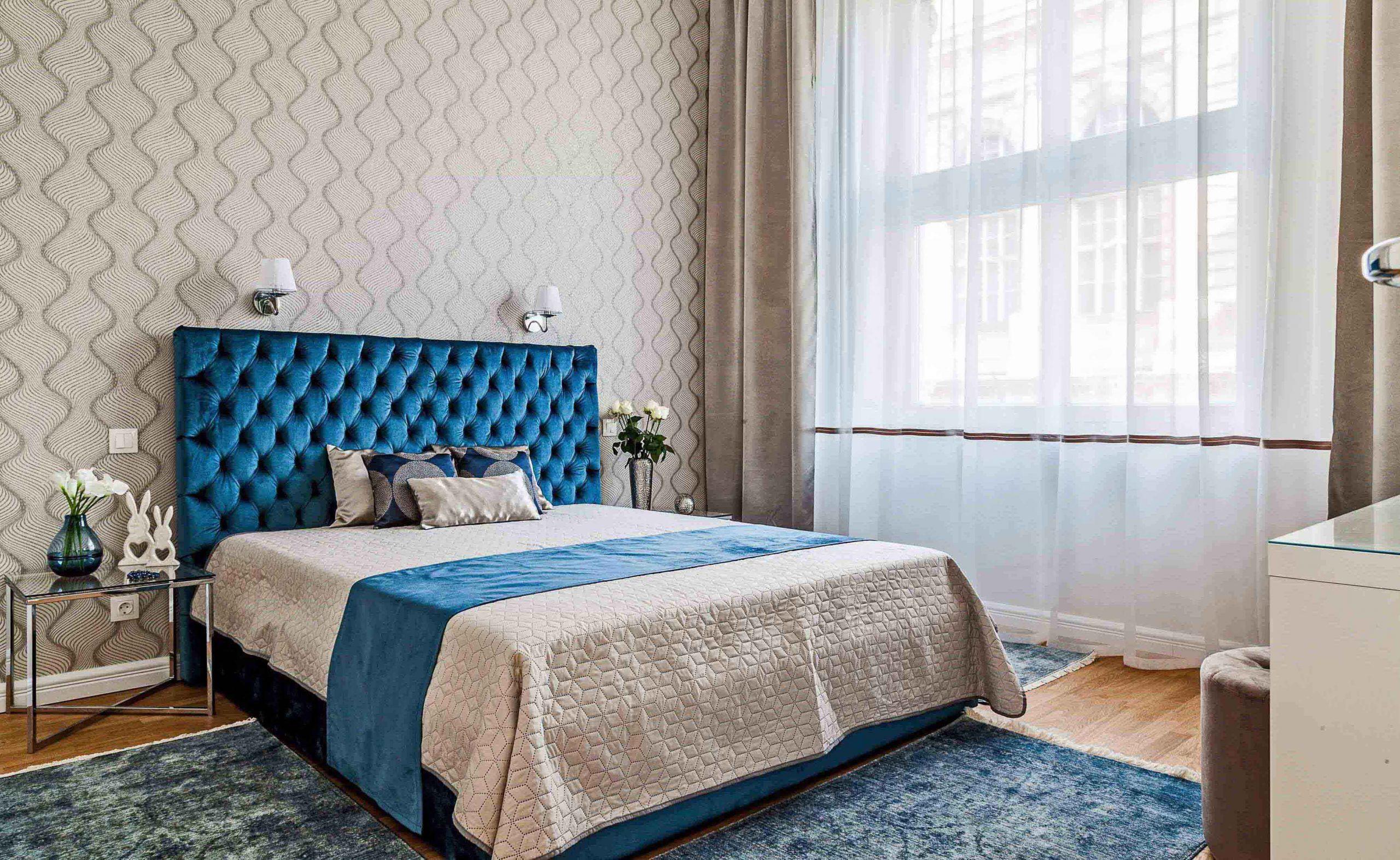Kék ágy klasszikus stílusban