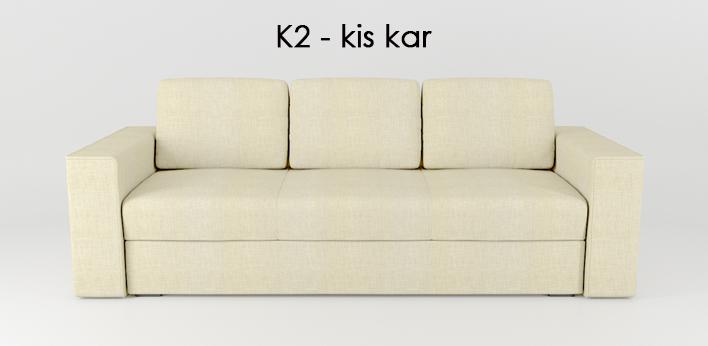LMS kanapé K2 kar