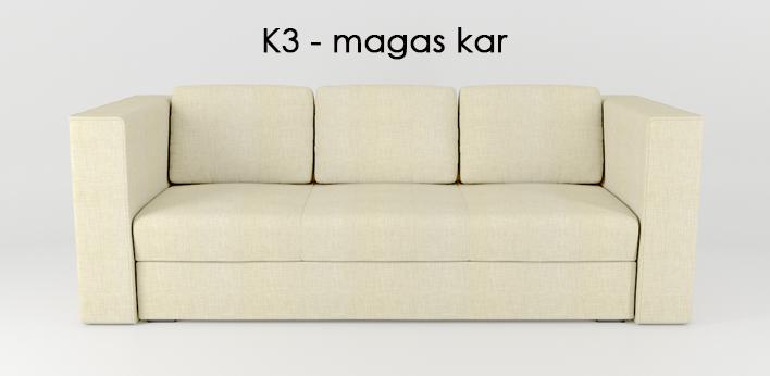 LMS kanapé K3 kar