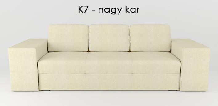 LMS kanapé K7 nagy kar