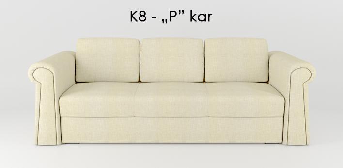 """LMS kanapé K8 """"P"""" kar"""